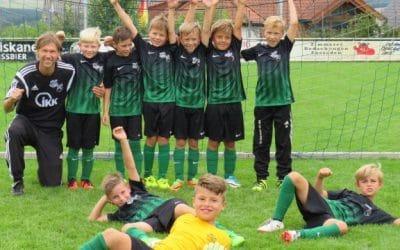 Torreicher Start unserer F-Jugend in die neue Saison