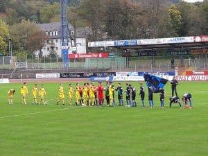 1:1 Remis bei Eintracht Trier!!!
