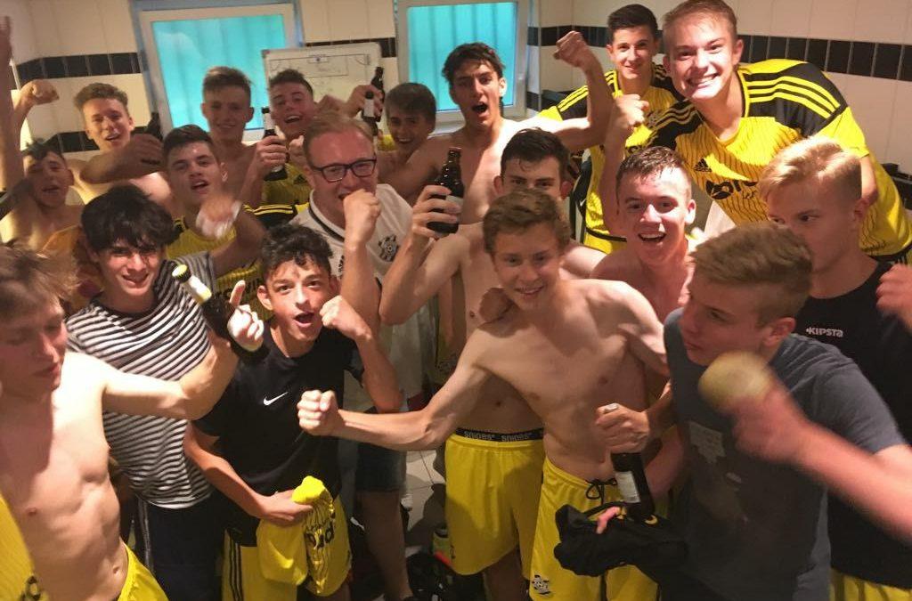 U17 steigt in die Verbandsliga auf!