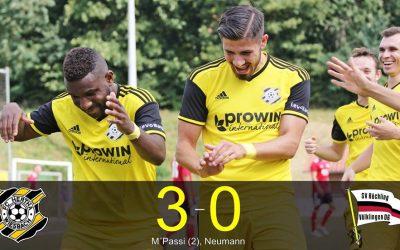 Saarderby-Nadelstich unseres FC Hertha Wiesbach! M'Passi schraubt Doppelpack