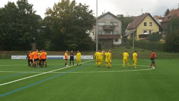 AH SG Wiesbach/Habach gegen SG HuBE 4:0
