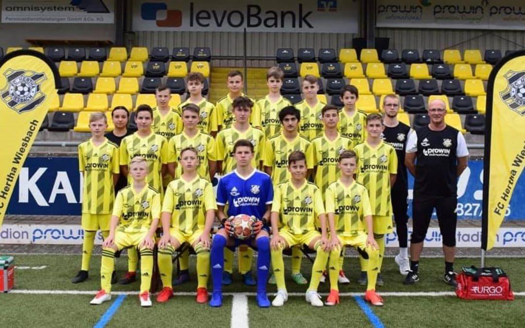 U15 startet mit 8:0 Heimsieg in die Quali-Runde