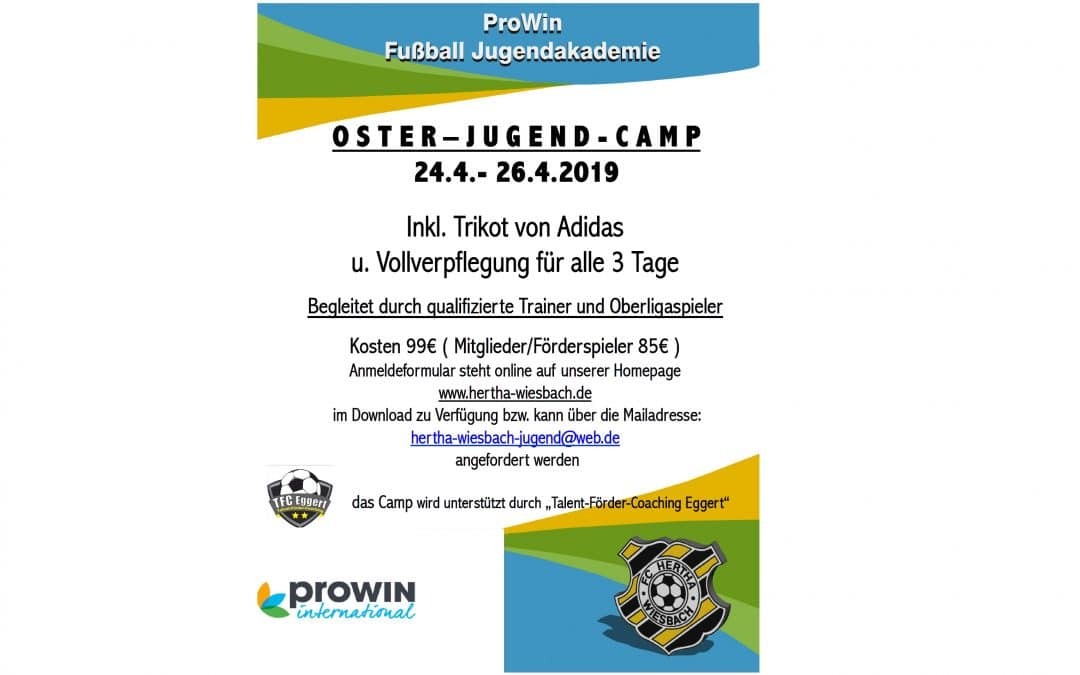 proWIN-Oster-Jugendcamp 2019