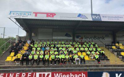 3 Tage Fussballcamp – 80 Kids – 15 Trainer – und viele ehrenamtliche Helfer