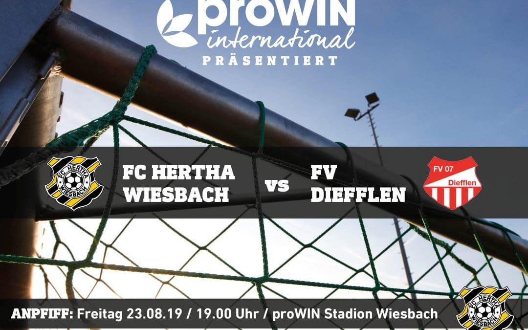 Derby im proWIN Stadion