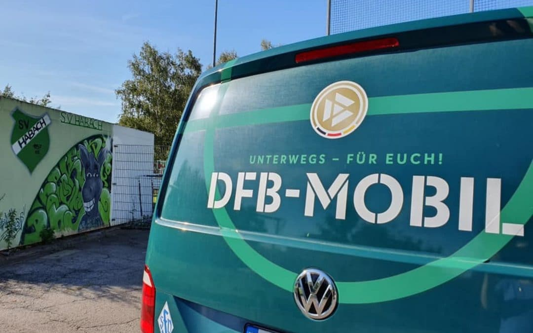 DFB-Mobil zu Besuch in Habach