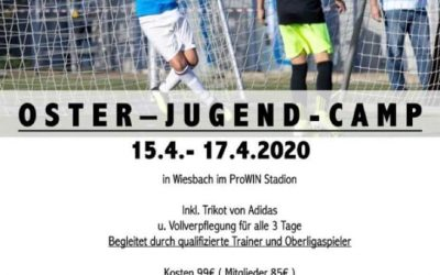 SAVE THE DATE: Oster-Jugend-Camp vom 15.4 bis 17.4
