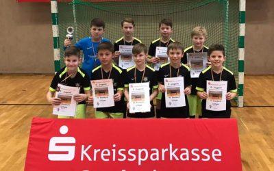 Erfolgreicher Abschluss der Hallenrunde unserer E1-Junioren