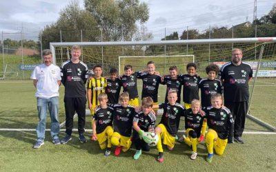 U 12 bleibt weiterhin in der Erfolgsspur und siegt im Derby gegen den FC Uchtelfangen mit 3:0.